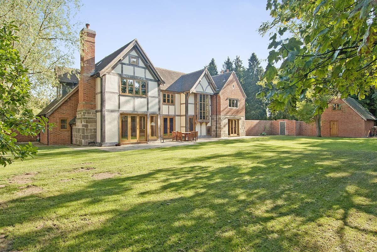 Welsh Oak Frame Dream Home House