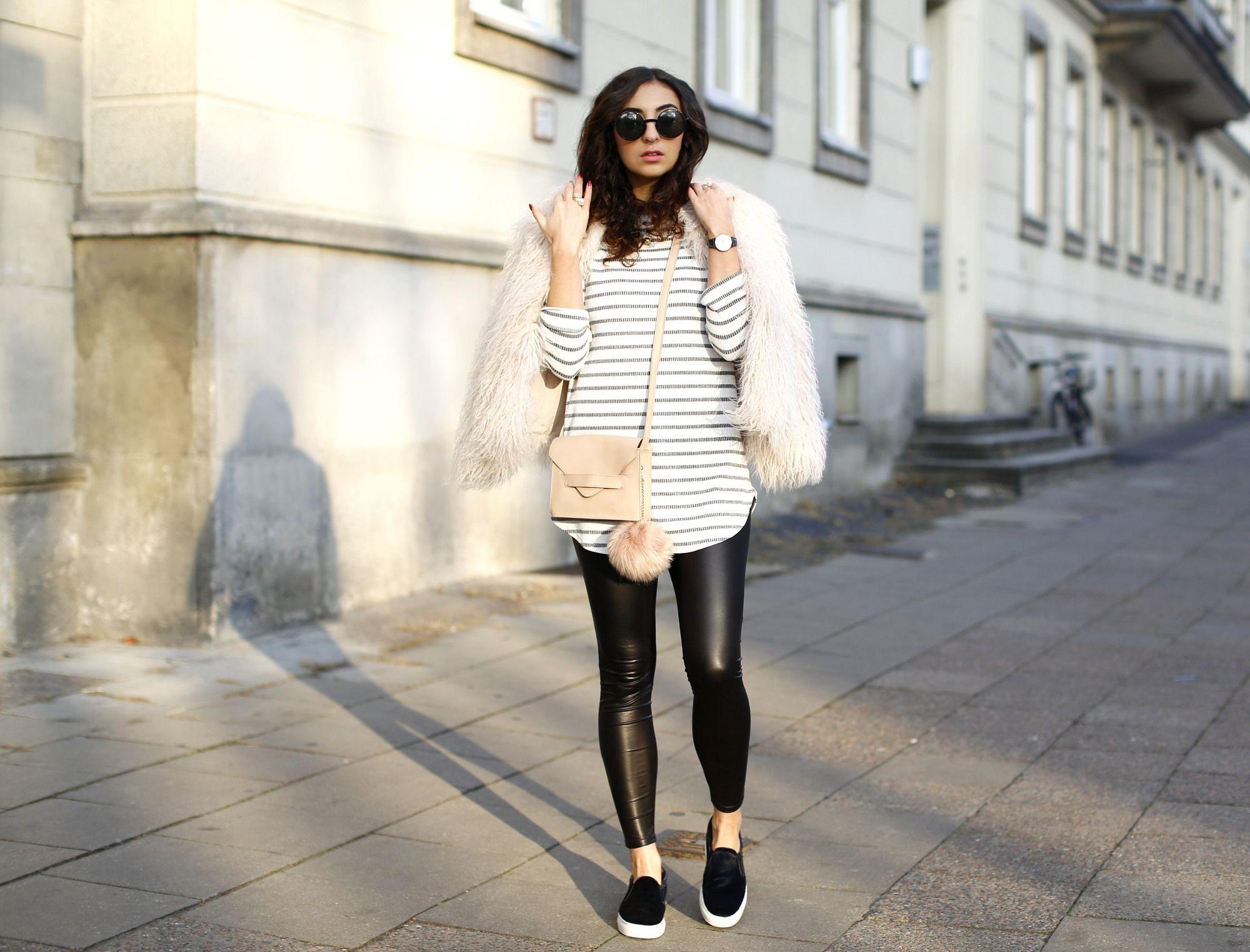 Zara Faux Fur Jacket Jacken, Kunstpelz jacke und Pelzjacke