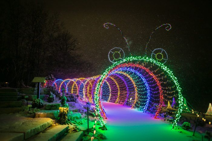 Garden Of Lights Green Bay Wi Beauteous 11 Christmas Light Displays In Wisconsin That Are Pure Magic Design Decoration