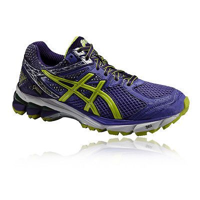 Breathable Women's Asics Purple Running Shoes