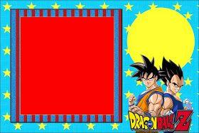 Dragon Ball Z Free Printable Invitations Invitaciones De