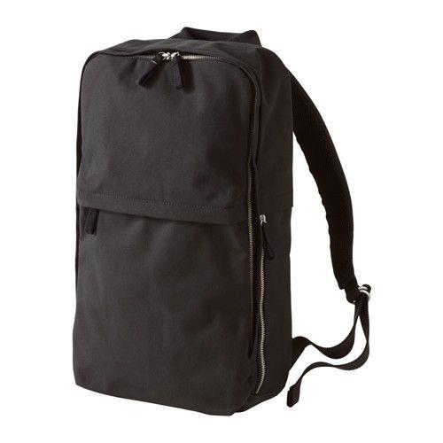 Ikea Koffer förenkla rucksack schwarz
