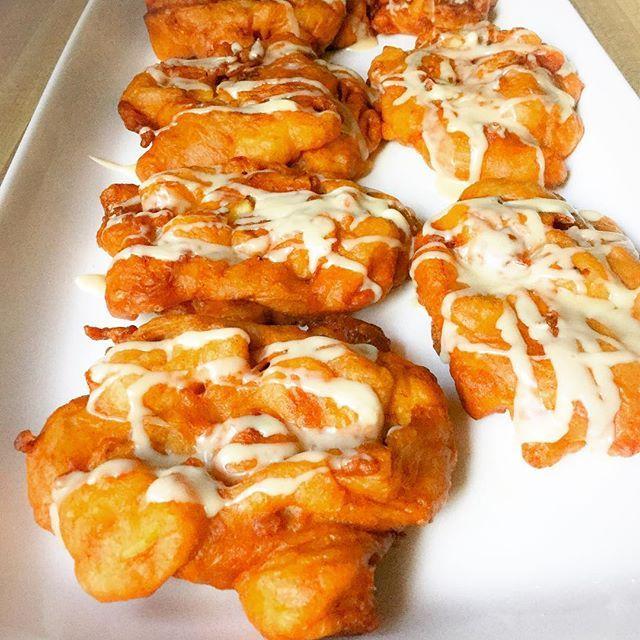 Crispy Fried Apple Fritters!