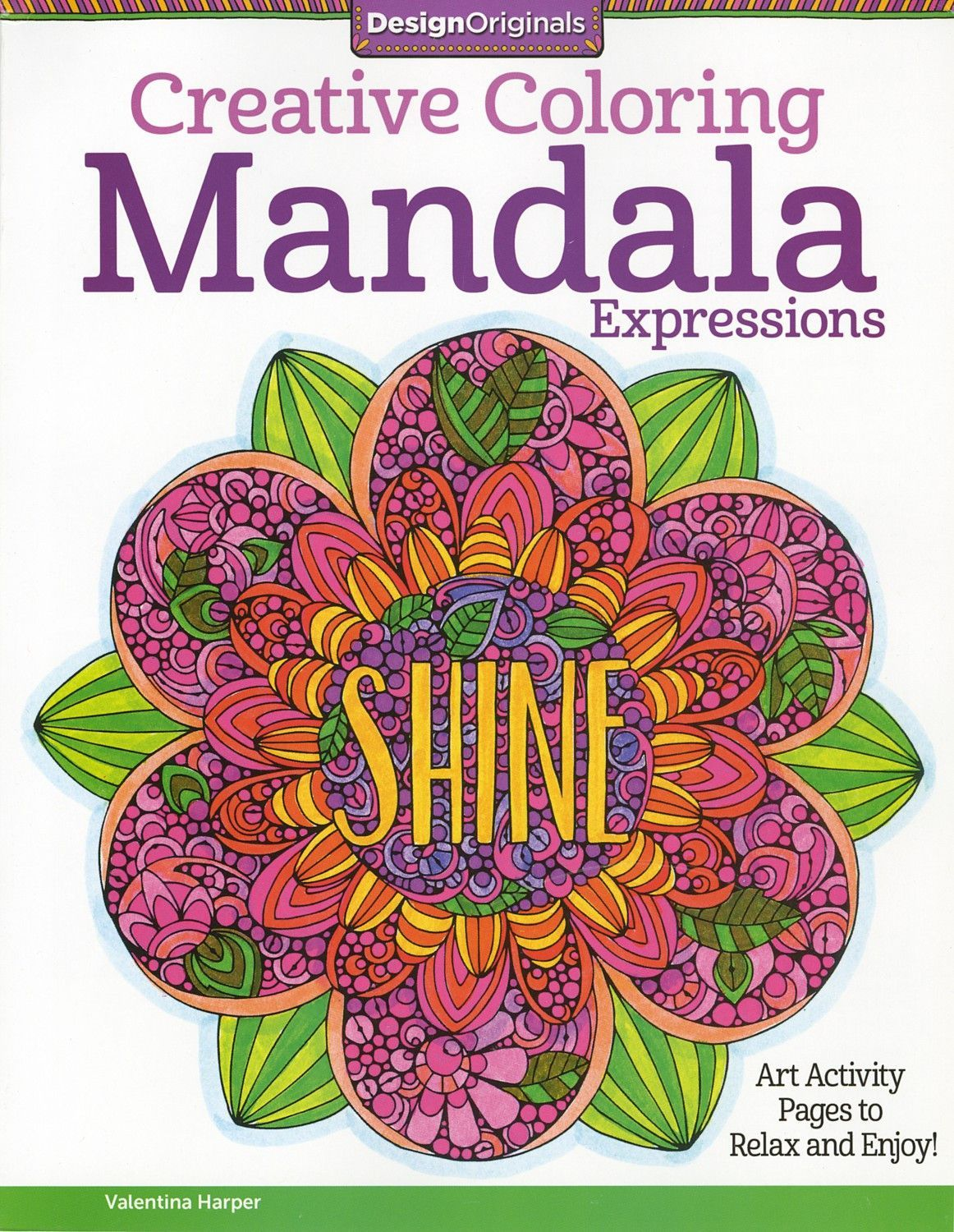 The gorgeous coloring book for grown ups - Creative Coloring Mandala Expressions Adult Coloring And Activity Book Inside This Gorgeous Coloring Book For Grownups Are 30 Ready To Color Art Activities