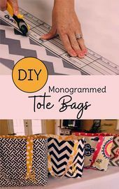 Looking for sewing projects for beginners Make your own DIY tote bags with this Looking for sewing projects for beginners Make your own DIY tote bags with this Auf der Su...