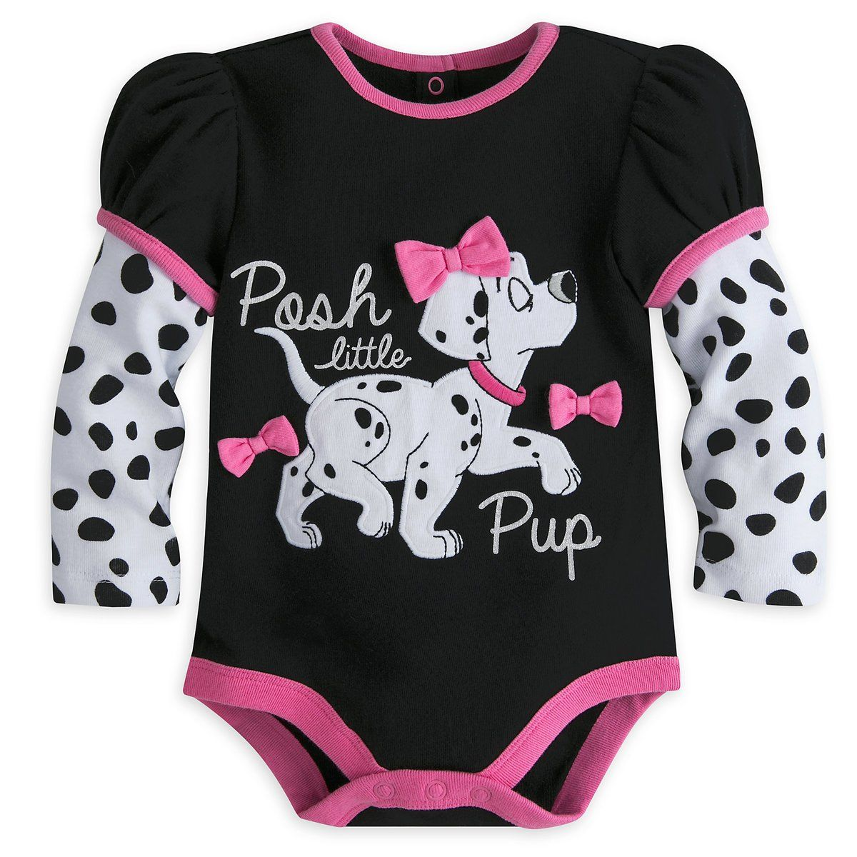 Disney Store 101 Dalmatians Baby Girls Bodysuit 1824 Baby Girl Clothing Baby Girl Fashion In 2020 Disney Baby Clothes Girl Disney Baby Clothes Baby Girl Bodysuit
