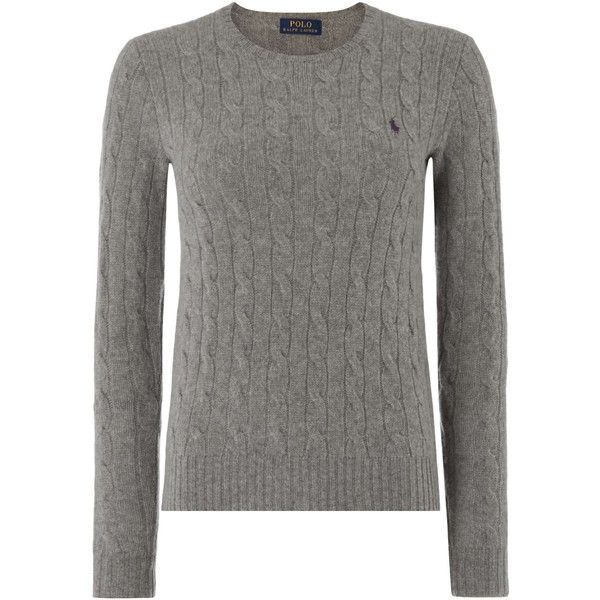 Polo Ralph Lauren Julianna cable wool crew neck jumper (11.790 RUB ...
