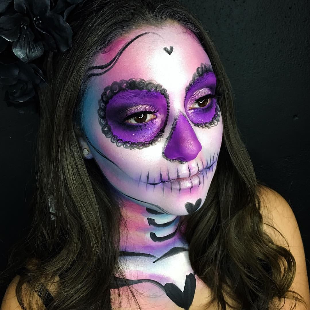 juscallmetara on Instagram For my Sugar Skull I used