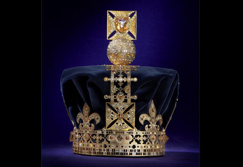 De Beers crown celebrating the Queen's Diamond Jubilee at Harrods