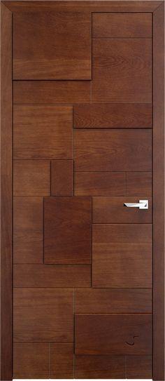 Dorian gago Pinterest Puerta madera, Puertas interiores y Escalera - puertas interiores modernas