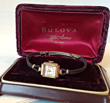 Antique Roaring Twenties Bulova Ladies Watch-Antique Bulova, Bulova Watch, Ladies Antique Watch, Vintage Bulova, Bulova Watch Case, Celluloid Watch Case, Watch Box, Vintage Watch Box, Vintage Jewelry Box, 1920's Fashion, Roaring Twenties