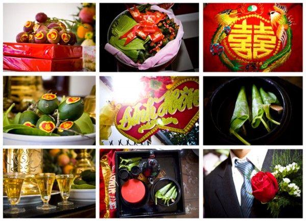 Vietnamese Engagement Ceremony Gifts Wedding Themeswedding Decorationswedding Photostraditional