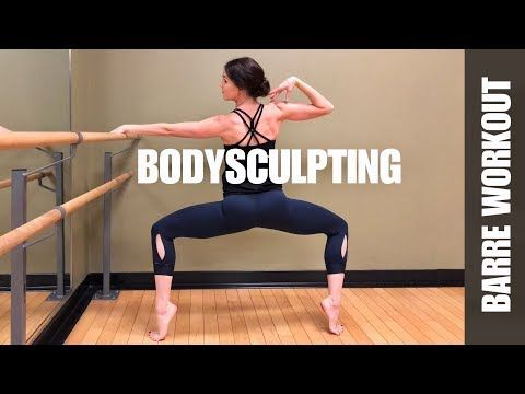 FULL BODY BARRE WORKOUT   BODY SCULPTING   35 Minutes