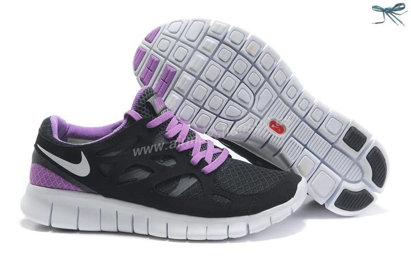 coût de sortie réduction Nice Nike Free Run 2 Chaussures Hommes Anthracite  Noir Et Blanc collections