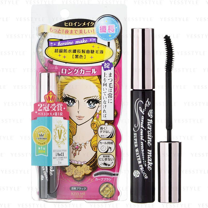 5c16ff0c76d Heroine Make Long & Curl Mascara Super Waterproof (Black), 6g - ISEHAN |  YESSTYLE. Buy ISEHAN Kiss Me ...
