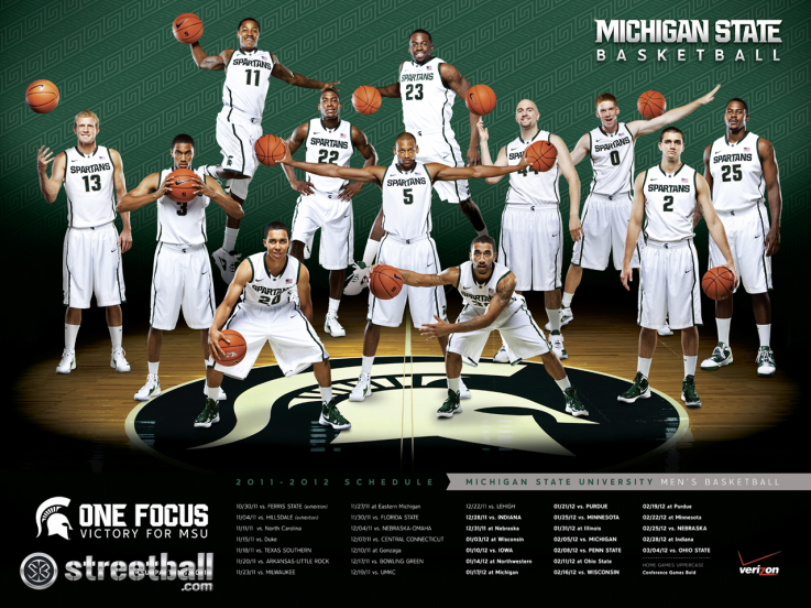 michigan state basketball team michigan state spartans