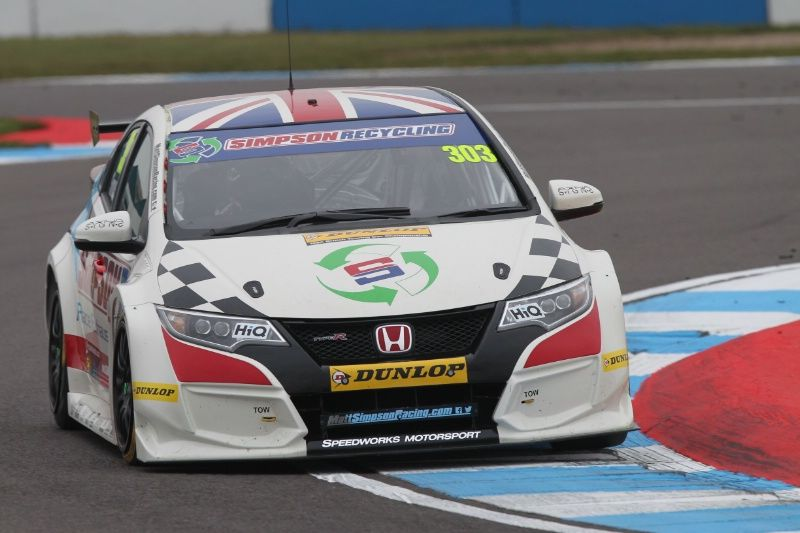 Matt Simpson (GBR) Speedworks Motorsport Honda Civic