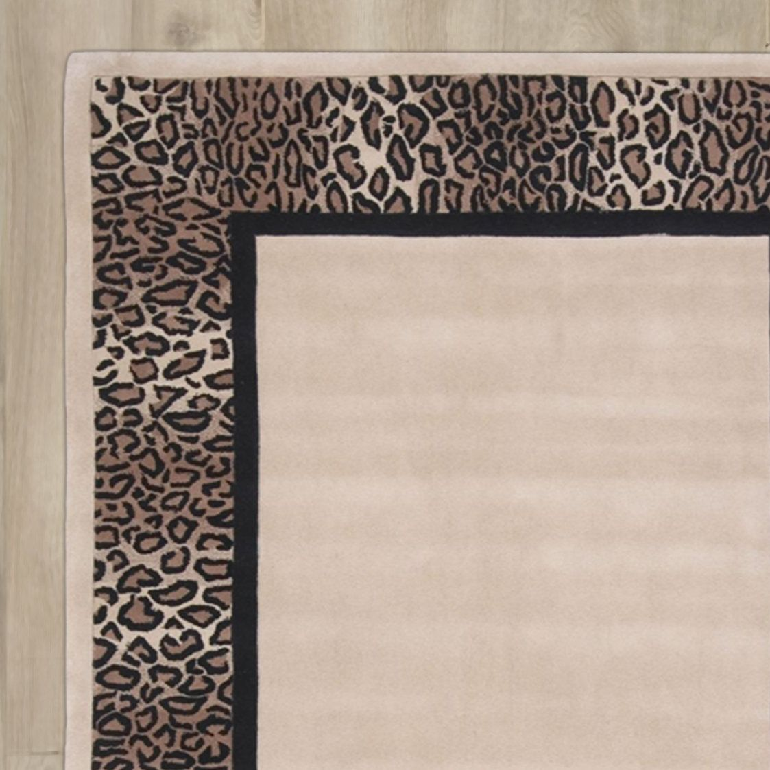 Neveah Hand-Tufted Beige/Brown Area Rug