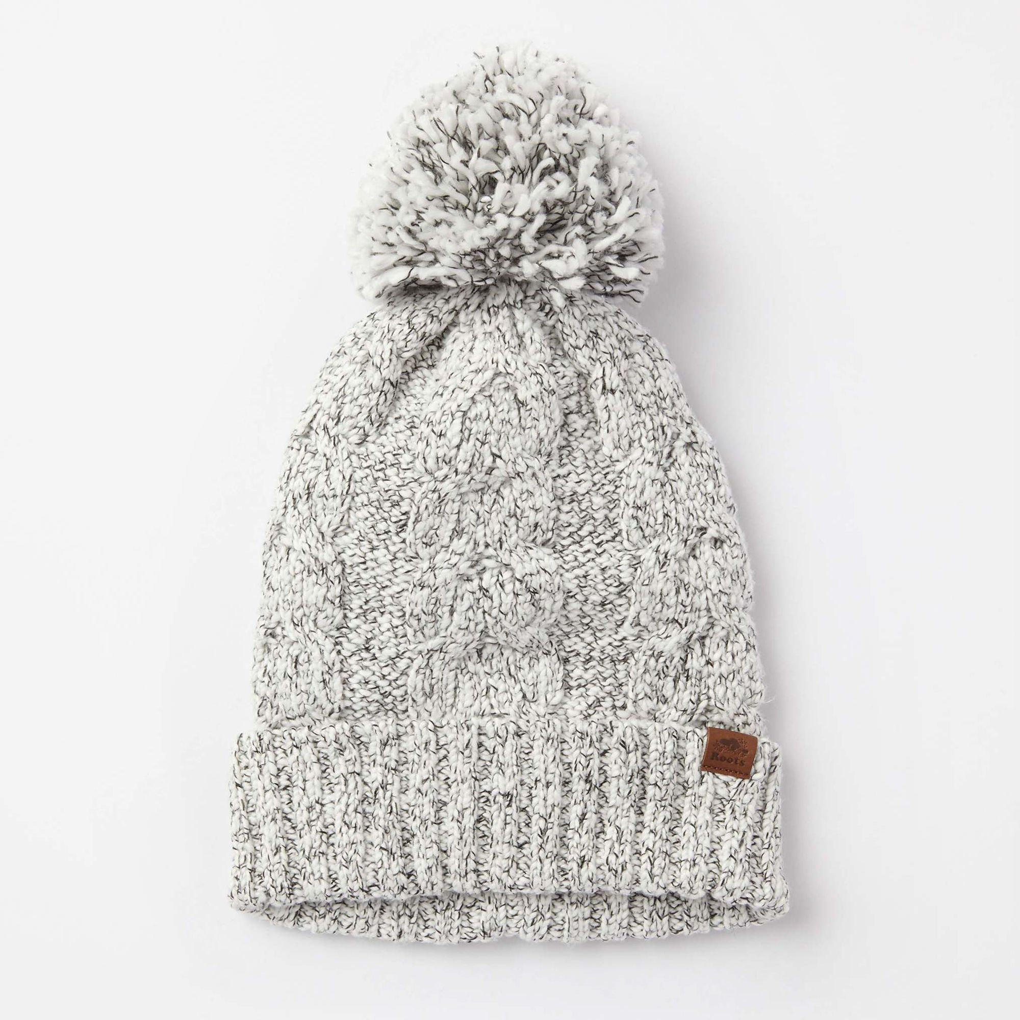 14e815643 Womens Snowy Fox Pom Pom Toque | Roots | Hats knit | Winter hats ...