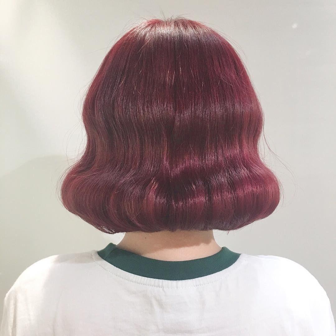 圧倒的に今っぽ髪色 チェリーカラー がトレンドヘアの鍵
