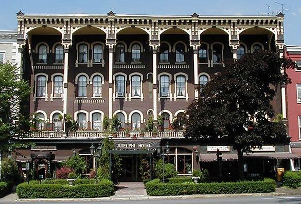 Adelphi Hotel Broadway Saratoga Springs Ny
