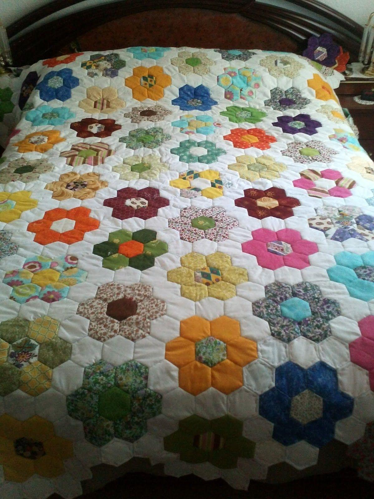 Como hacer patchwork buscar con google sobrecama de - Como hacer edredones ...