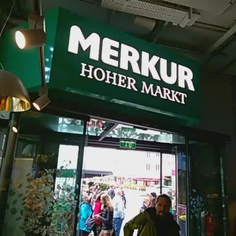 Blackhole Visitor Toilet At Merkur Hoher Markt Grocery Store In