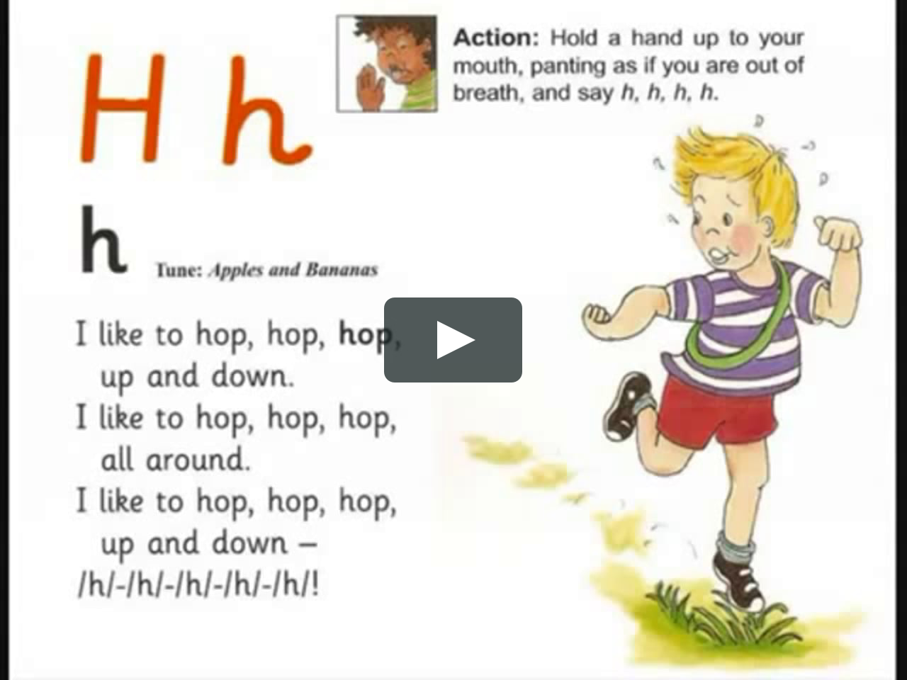 All Jolly Phonics Songs In Alphabetic Order Inc Qu Plus
