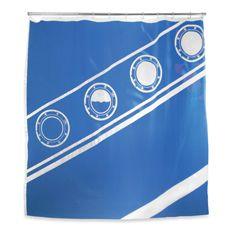 Kikkerland Titanic 72 X 72 Eva Shower Curtain Bed Bath