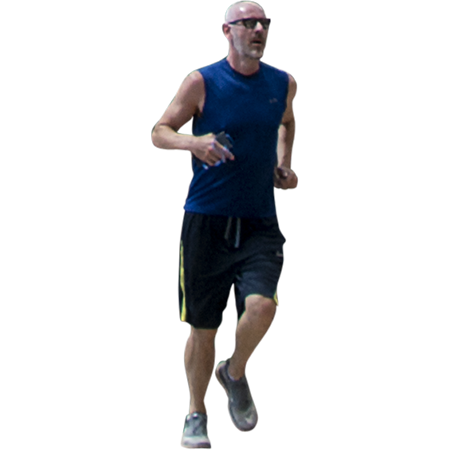 Need A Cutout Photo Of A Man Running And Attacking Life Here S One Man Running Man People Png
