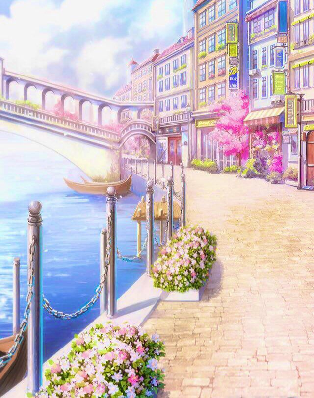 Pin By Guadita On Anime Manga In 2020 Anime Scenery Anime Places Anime Backgrounds Wallpapers