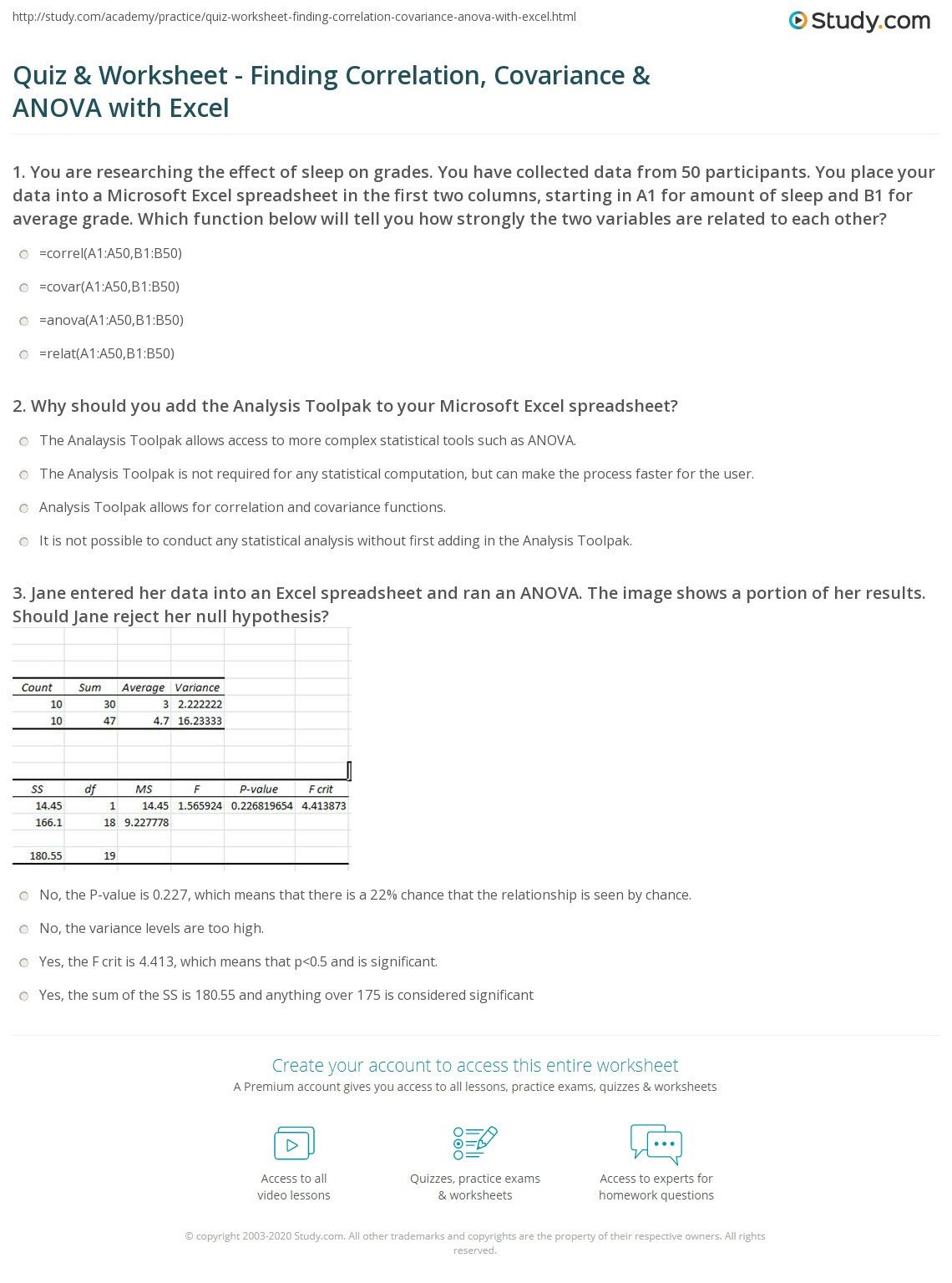 Correlation Vs Causation Worksheet In