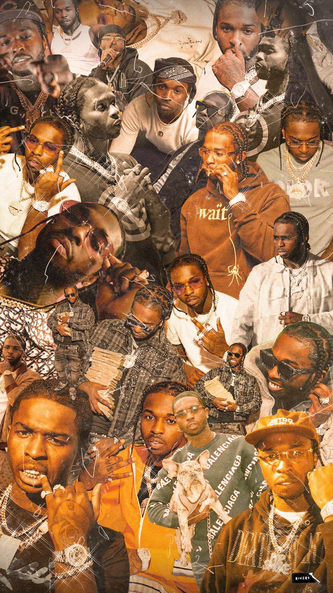 Pop Smoke Wallpaper Smoke Wallpaper Iphone Wallpaper Landscape Rap Wallpaper