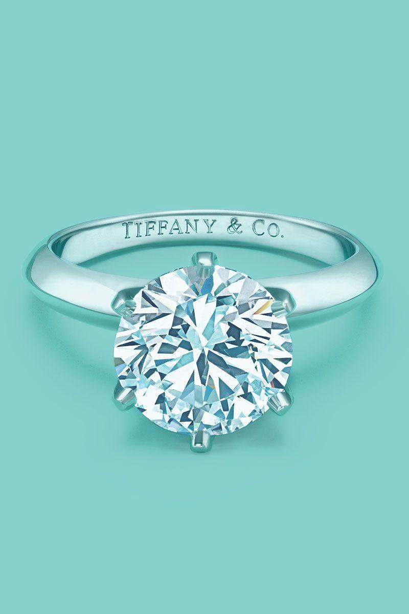 the tiffany setting tiffanys classic diamond engagement ring tiffanypinterest - Tiffanys Wedding Rings