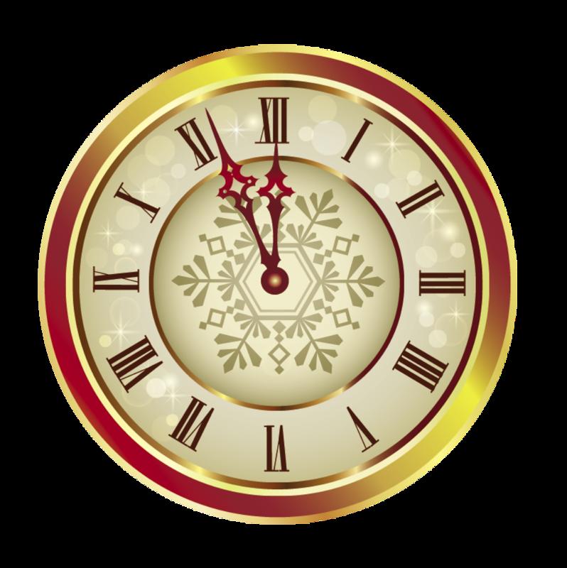 Картинка сказочных часов со стрелками