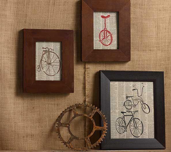 Four Bikes Canvas   Pinterest   Bandejas, Bicicleta y Cuadro