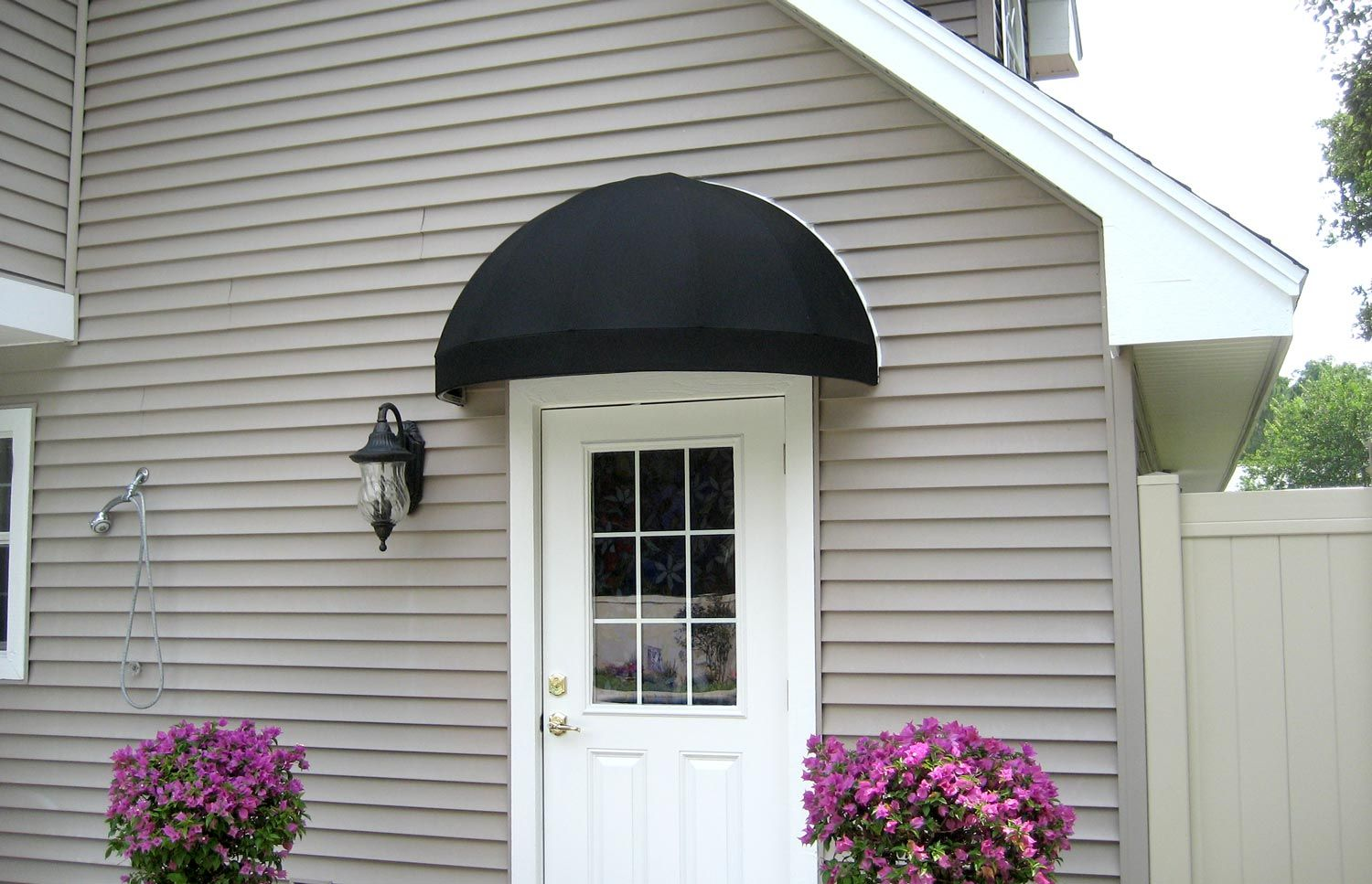 Image Result For House Front With Cloth Awnings Fabric Awning Awning Front Door