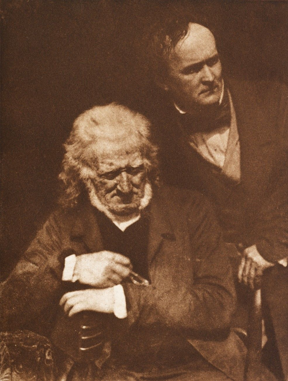Handyside Ritchie and William Henning, photographed by David Octavius Hill & Robert Adamson