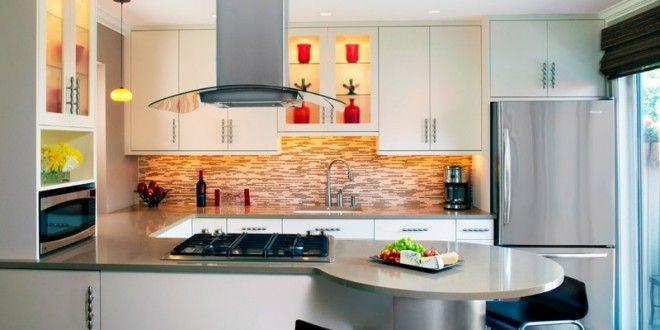 diseño cocina americana moderno | Hoy LowCost | Interiores, terrazas ...