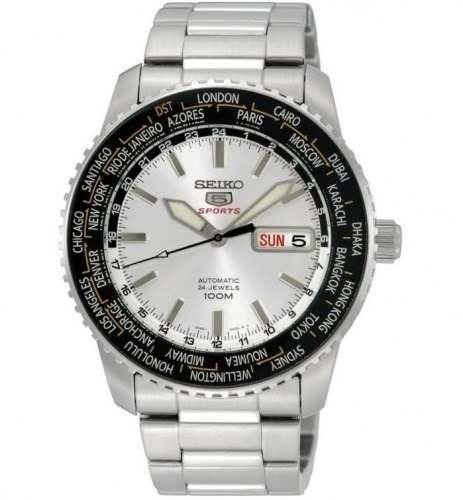 82429a9de087 Reloj Seiko Sport 5 Srp123k1 Automático 24 Joyas Wr100m -   3
