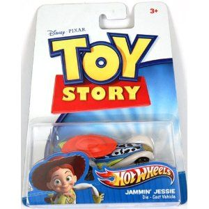 Toy Story 3 Die-Cast Vehicle (1:64 scale) - Jammin' Jessie