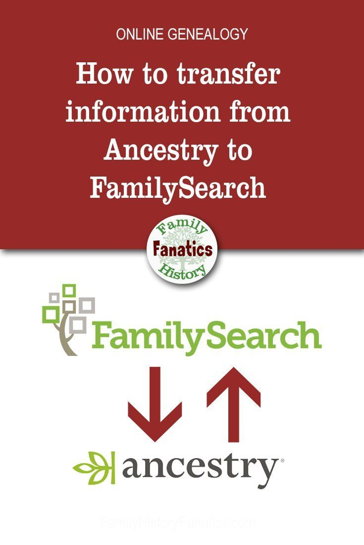 Learn the steps that will simplify the process of transferring your genealogy data between FamilySearch and Ancestry using RootsMagic. #organization #genealogy #ancestors #genealogy