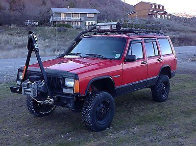 1995 Jeep Cherokee XJ Sport 4x4 Turbocharged Mercedes Benz Diesel