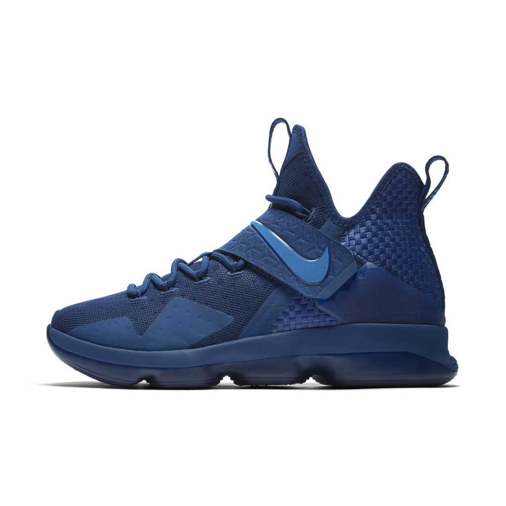 7300c0da284e8 Nike LeBron XIV  Agimat  Men s Basketball Shoe Size 10.5 (Blue ...