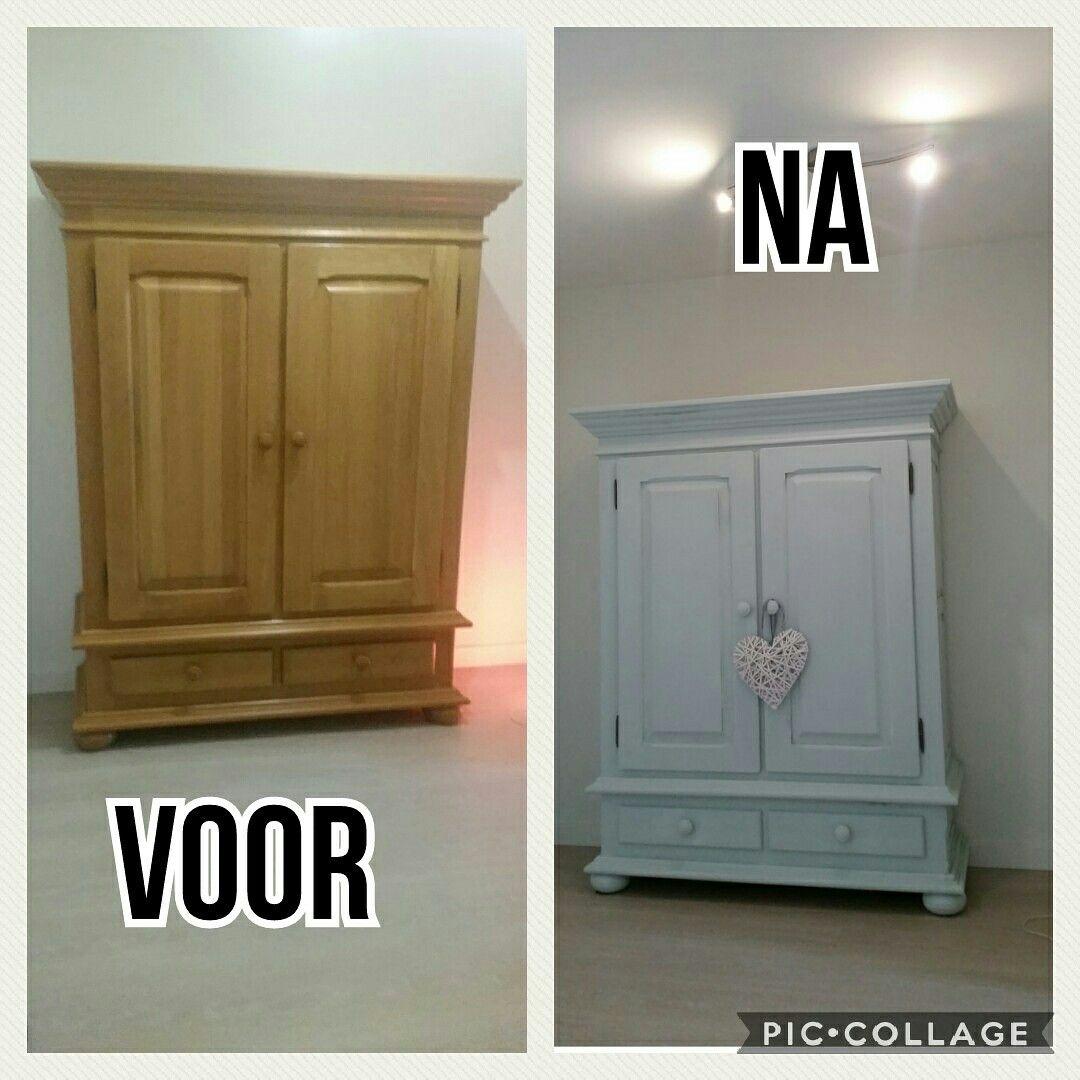 Broodkast Geverfd Met Krijtverf Mint Van De Action Home