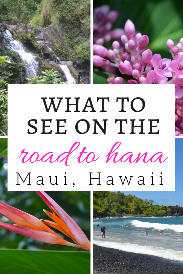 what to see on the road to hana in maui hawaii
