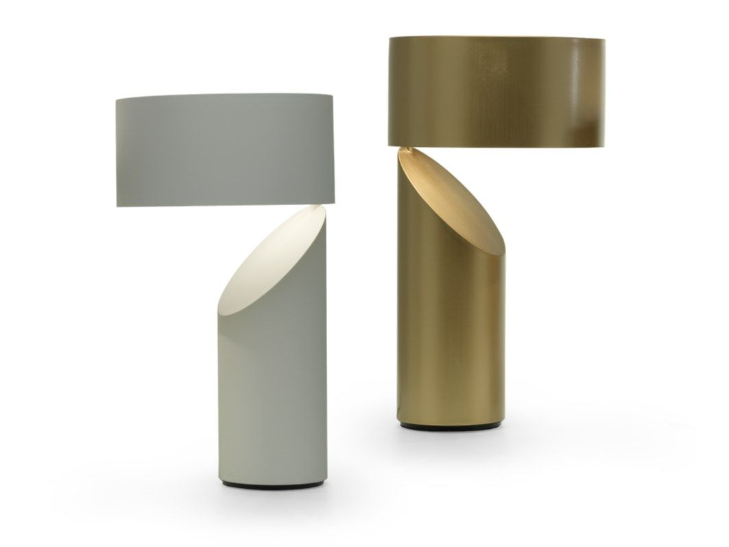 Metal table lamp VICO By Natuzzi design Victor Vasilev in