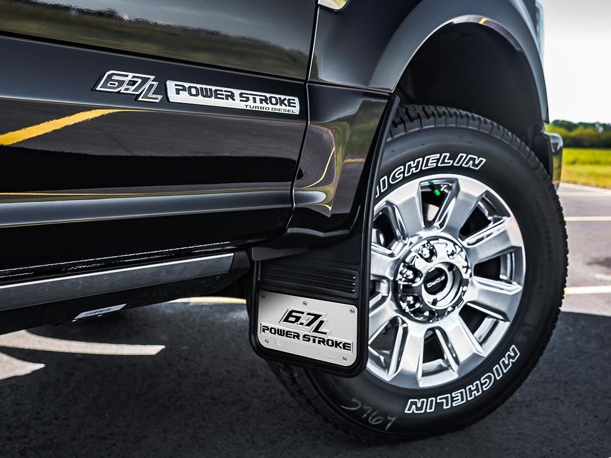 Truck Hardware Gatorback Mud Flaps Ford 6 7l Power Stroke Xe độ