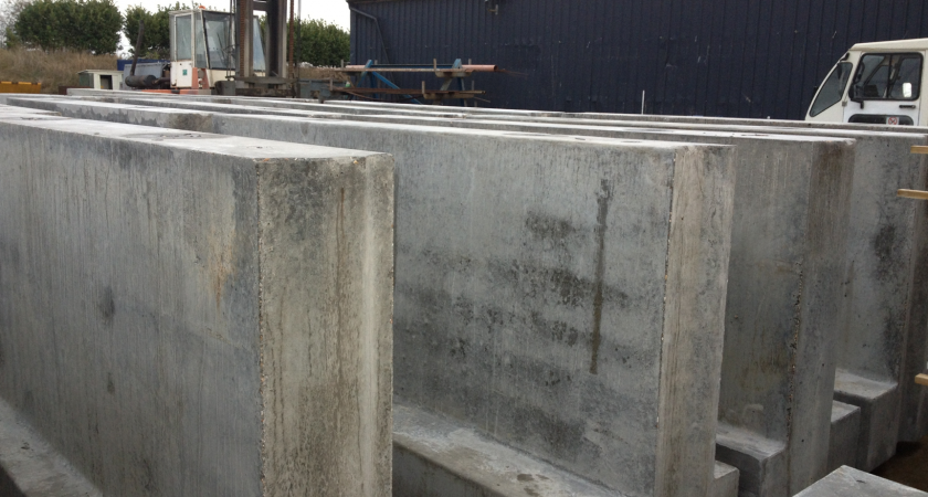 Bespoke Precast Concrete Products | Retaining Wall Products