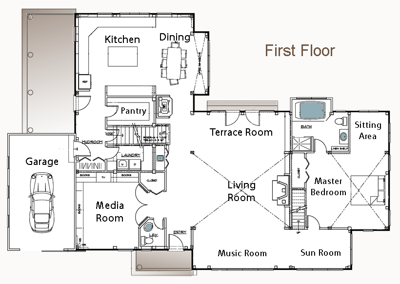barn style homes floor plans